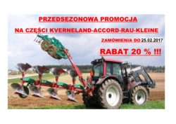 Sezonówka Kverneland 2017